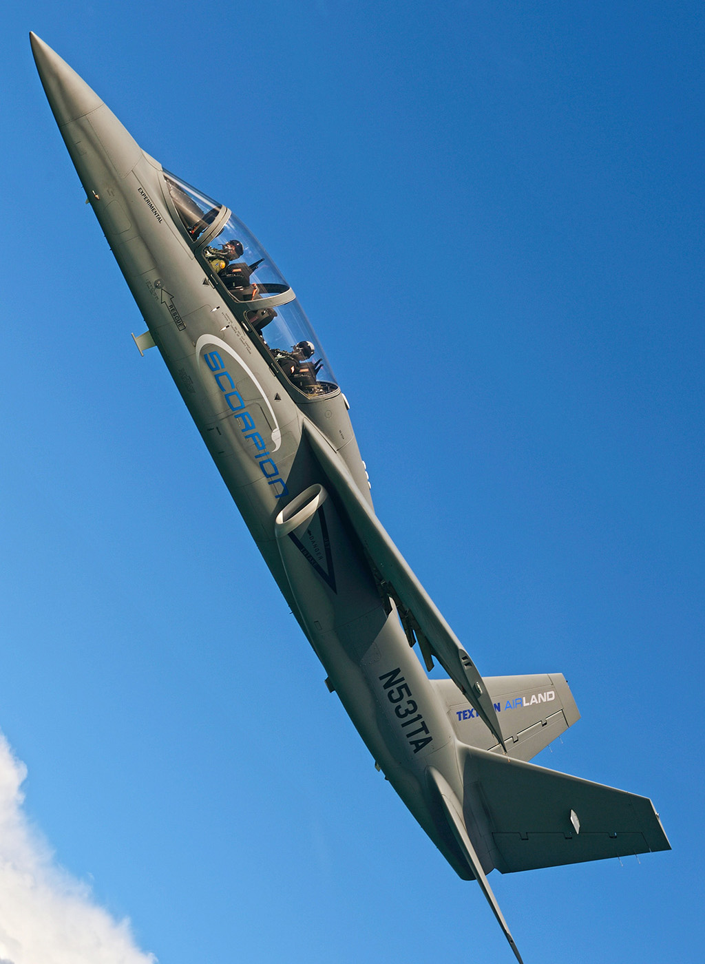 Textron Scorpion Jet News: US Air Force Student Test Pilots Evaluate Textron Airland