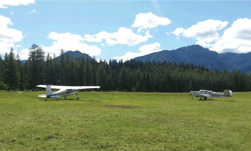 Flying the backcountry in a single-engine aircraft