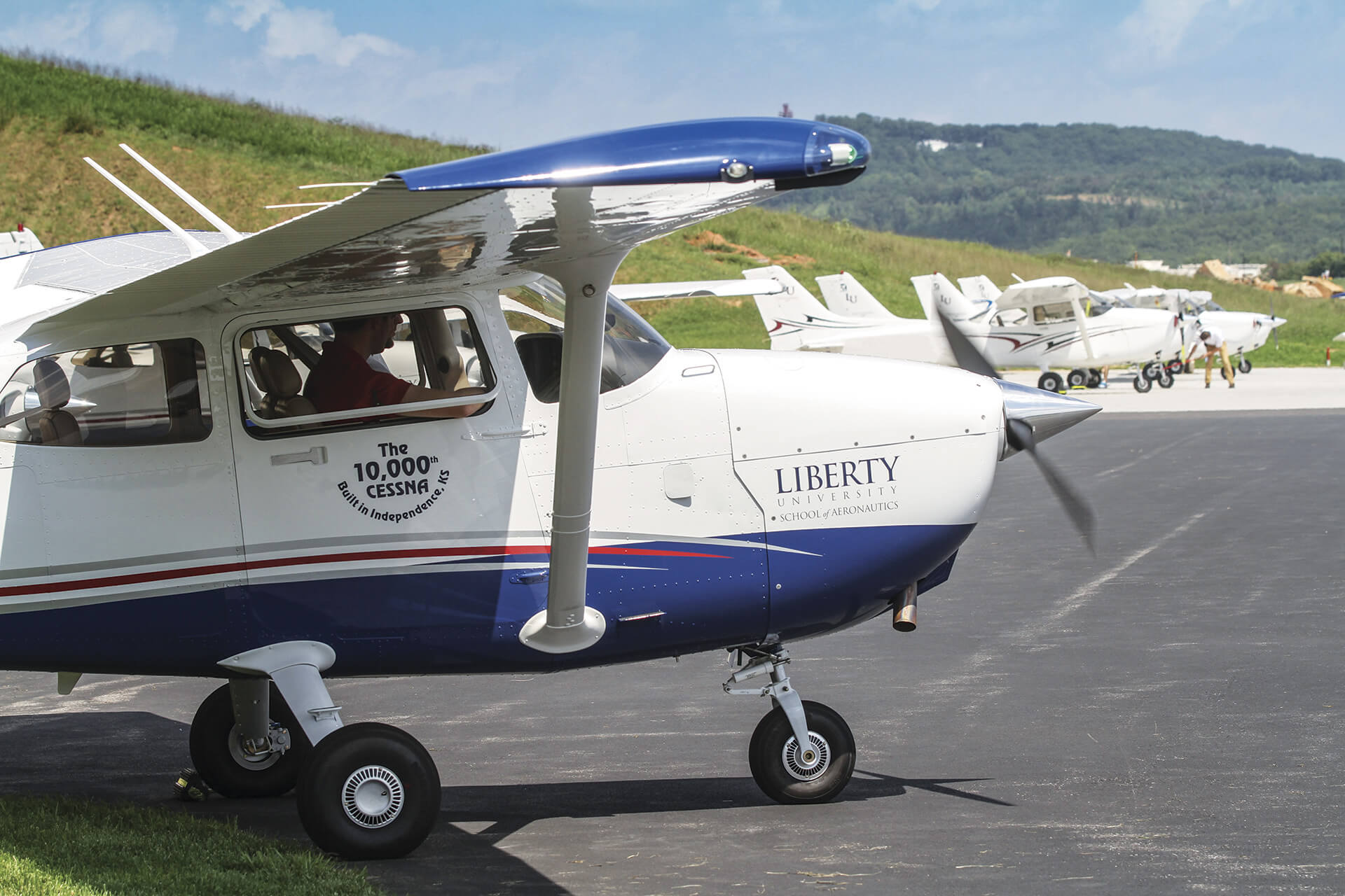 Choosing a flight training program