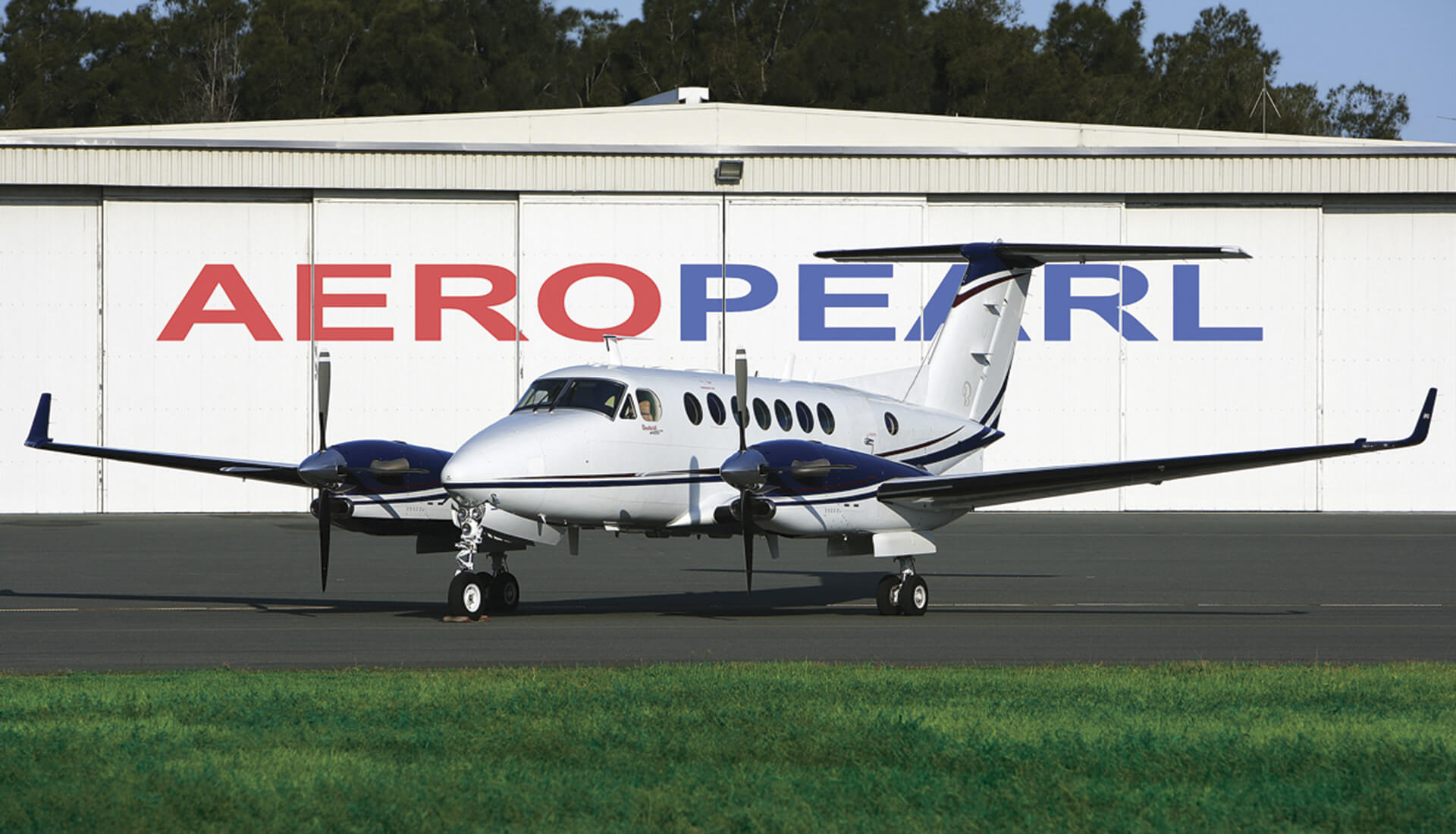Flight inspection King Air 350