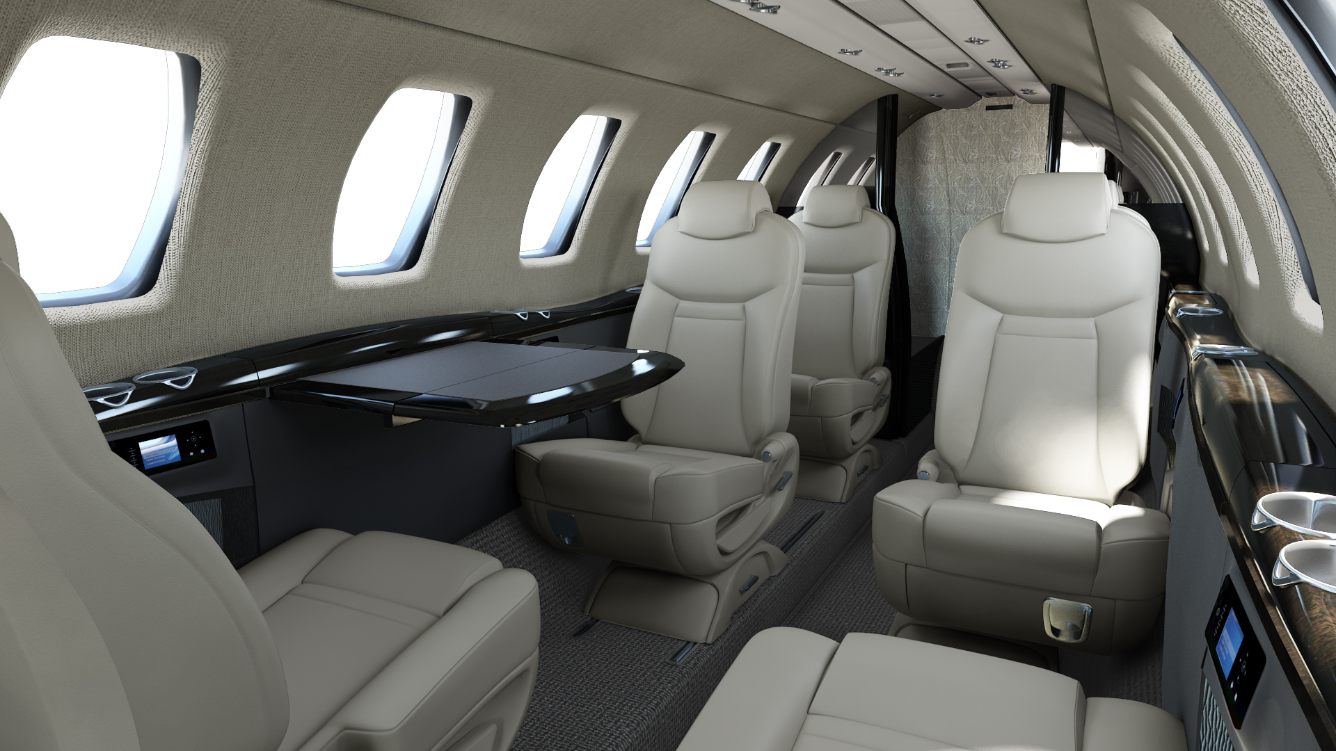 Textron Aviation - Citation CJ4 (Interior)