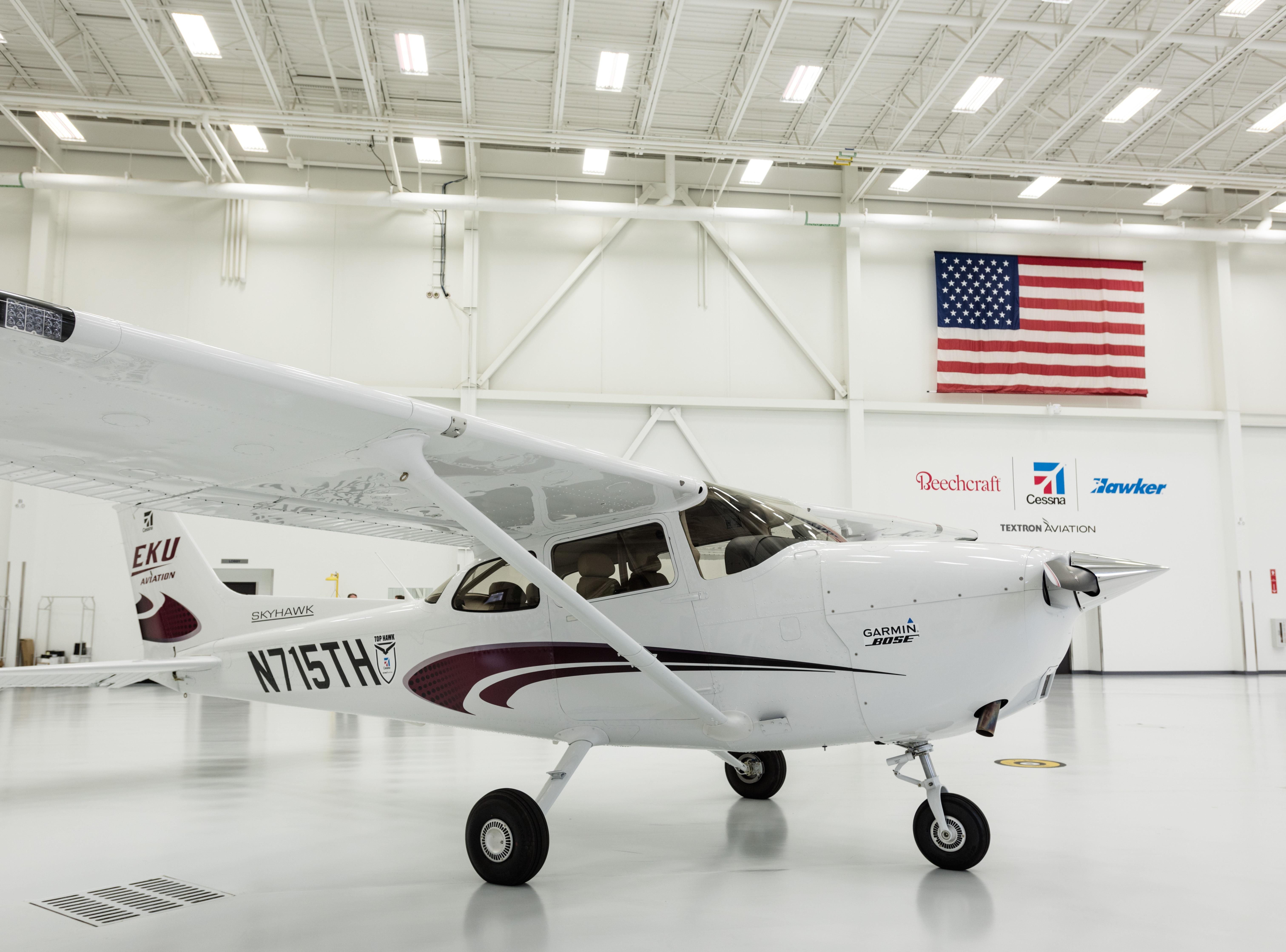 Textron Inc - Textron Aviation piston aircraft feature Garmin G1000