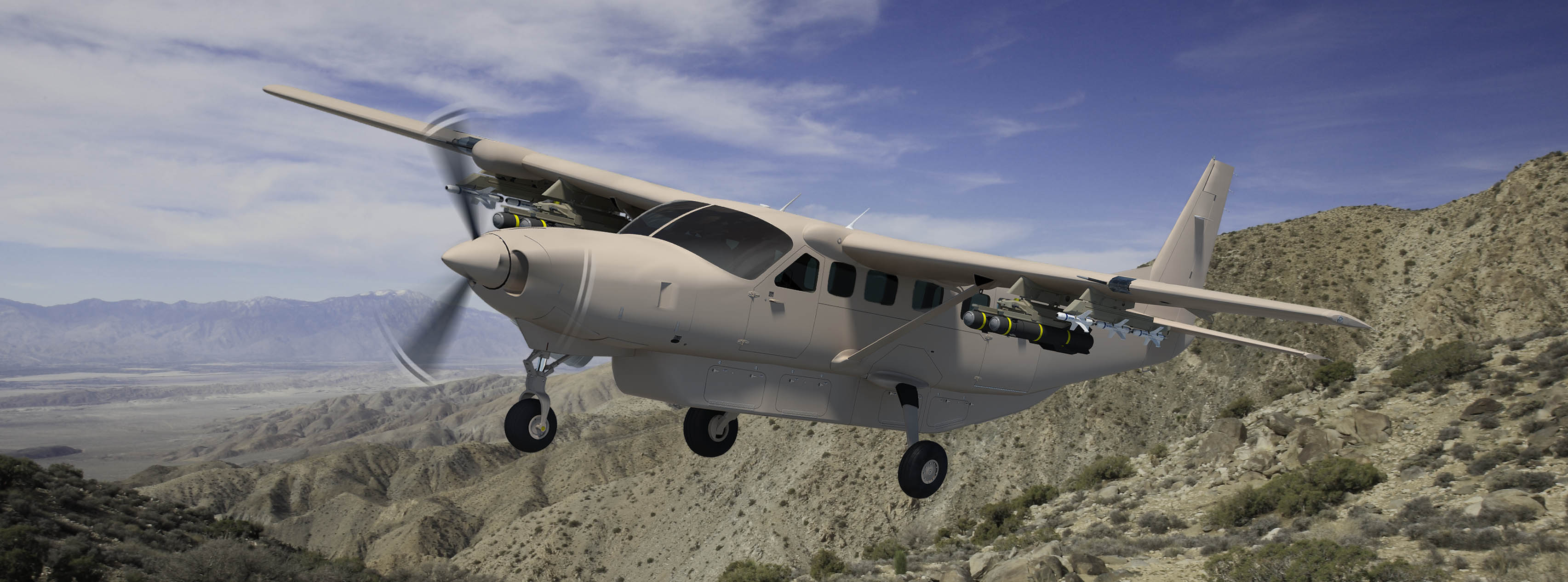 Image: Cessna Grand Caravan EX with hard point provisions