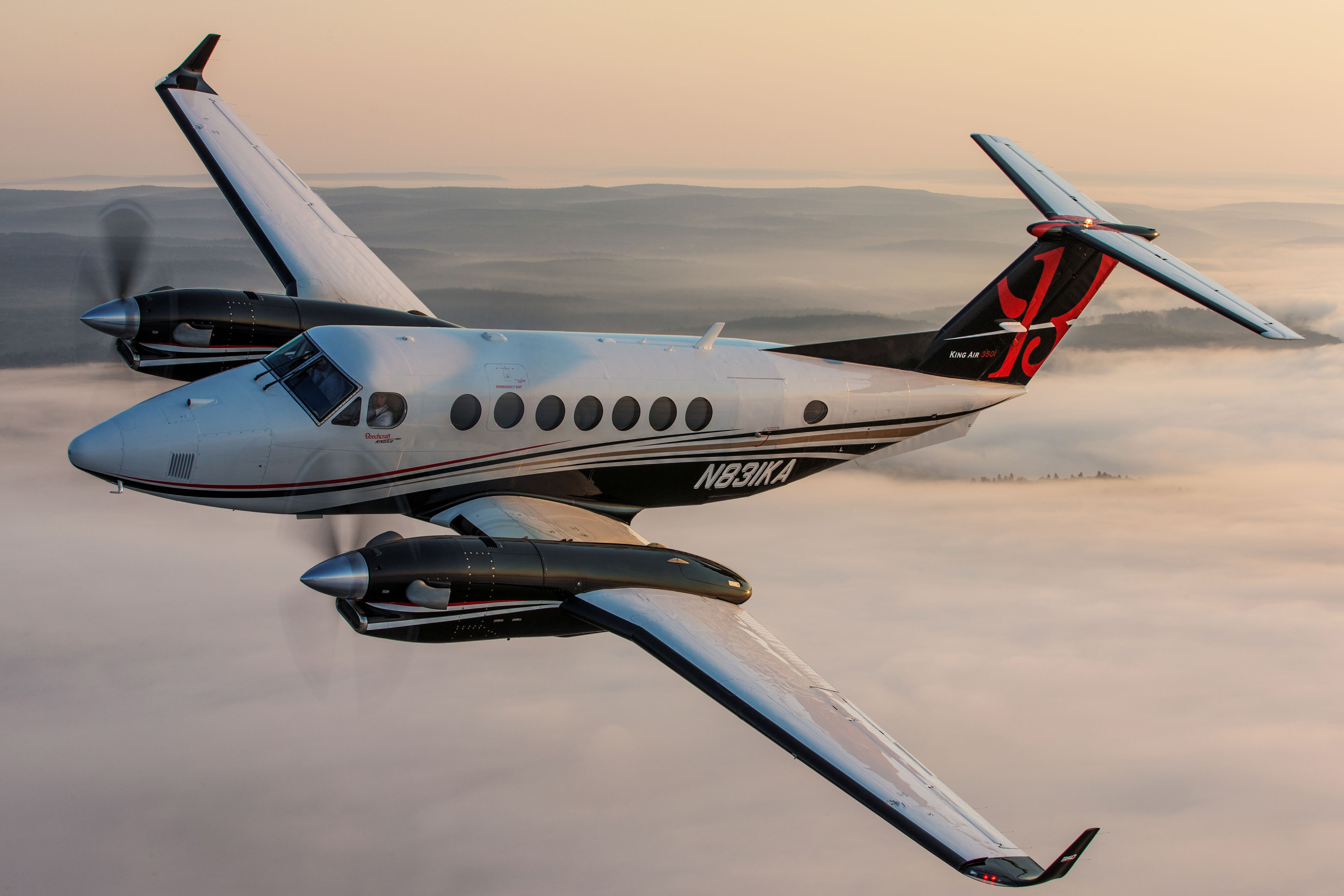 Fusion equipped Beechcraft King Air 350i ER and 250 earn EASA ...